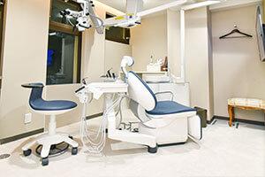 ノア歯科クリニック表参道の診療室