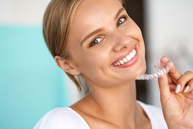 1.美しい歯並びがつくれる