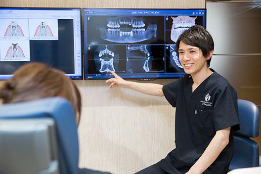 特徴1「歯~全身~人を診る」包括的な診療
